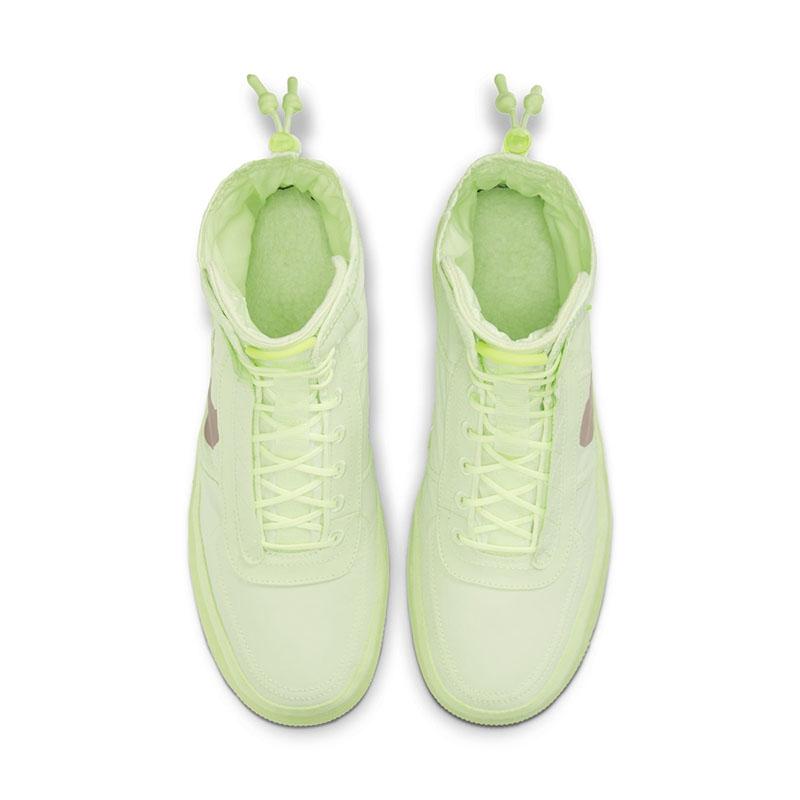 Nike,AF1,Air Force 1 Hi Shell, 全新系带方案!这双 AF1 Shell 现在上脚正合适!