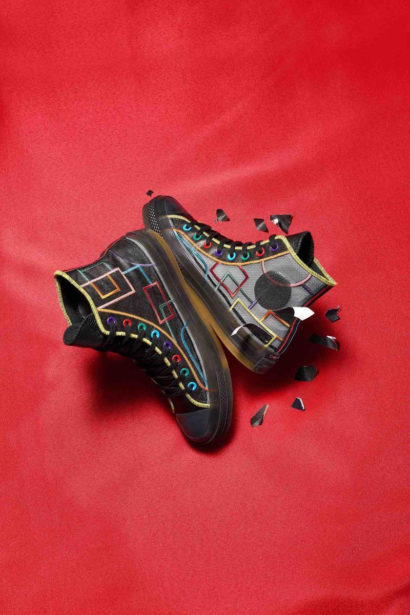 Converse,CNY,新年玩创系列  欧阳娜娜抢先上脚!Converse 新年系列发布,又能动手 DIY 了