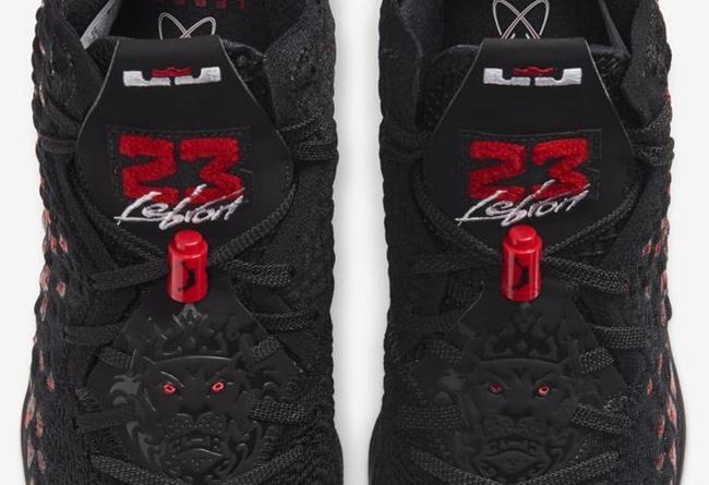 Nike,LeBron 17 官图释出!LeBron 17 黑红 AJ6 风格你打几分?