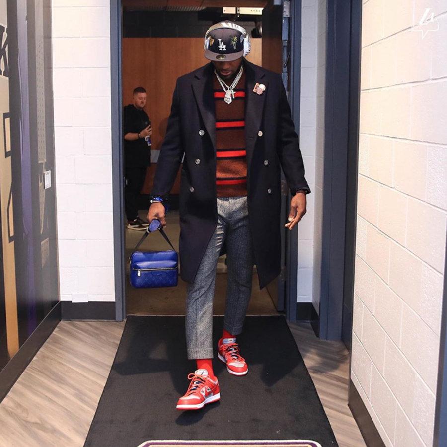 Nike,LeBron James,  圣诞大战湖人惜败!但是詹皇上脚的四双鞋足够吸睛!