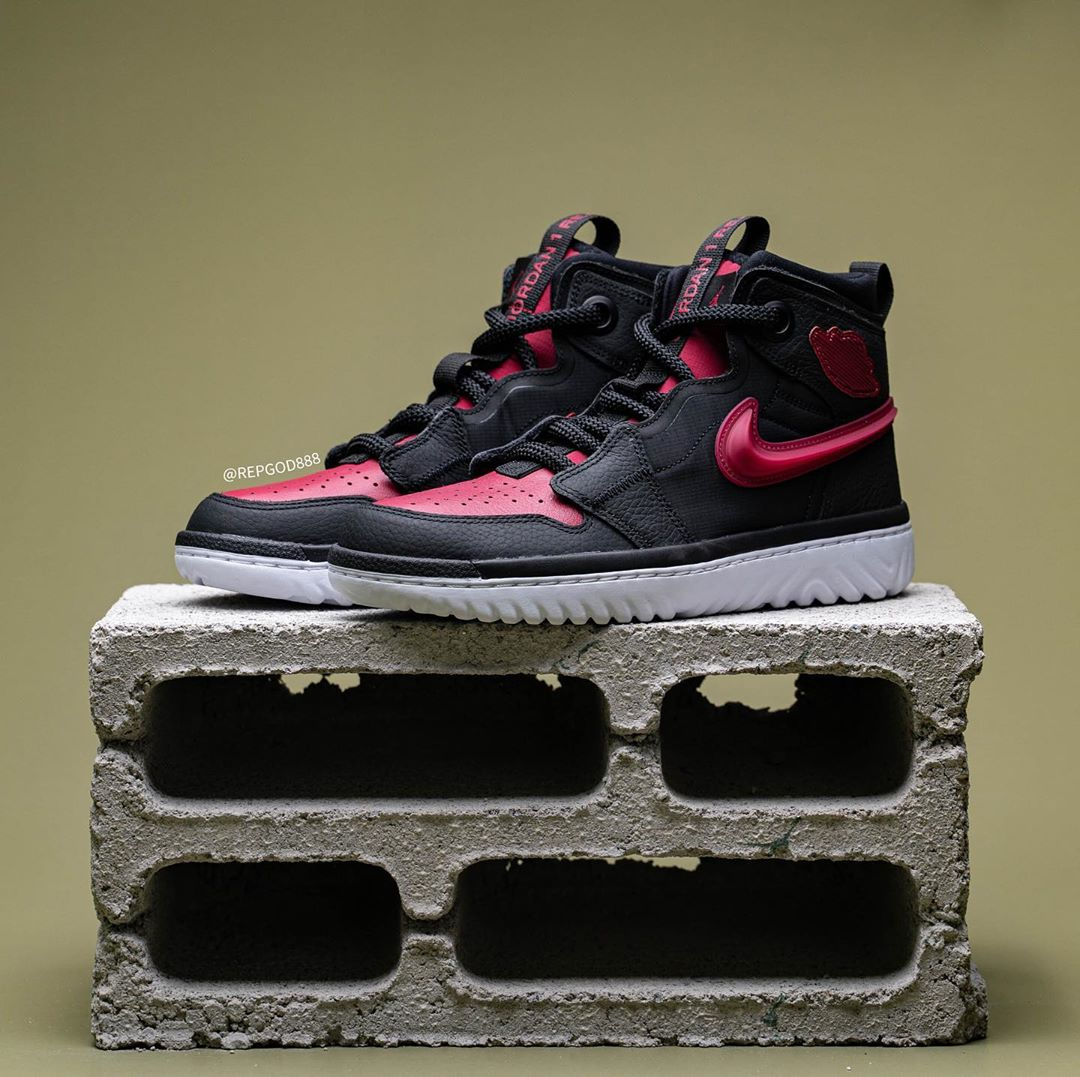 Air Jordan 1 React,AJ1,发售,AR53 又一双黑红 Air Jordan 1 曝光!配色还原,脚感还更爽了!