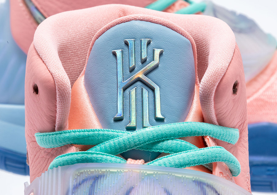 CU8879-600,Kyrie 6,Nike CU8879-600 神秘古埃及主題!CNCPTS x Kyrie 6 官網預告來了!