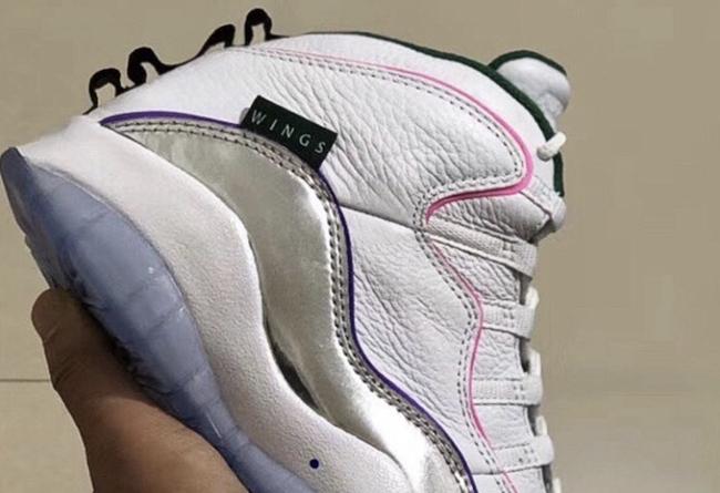 """Air Jordan 10,AJ10,Wings 又有新鲜设计元素!Air Jordan 10 """"Wings"""" 首度曝光!"""