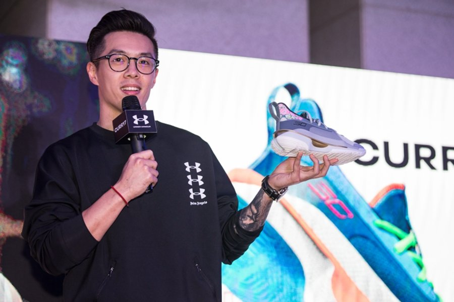 """UA,Under Armour,Curry 7,Chines  人見人愛的國風花卉!UA Curry 7 """"Chinese Painting"""" 實物正式曝光"""