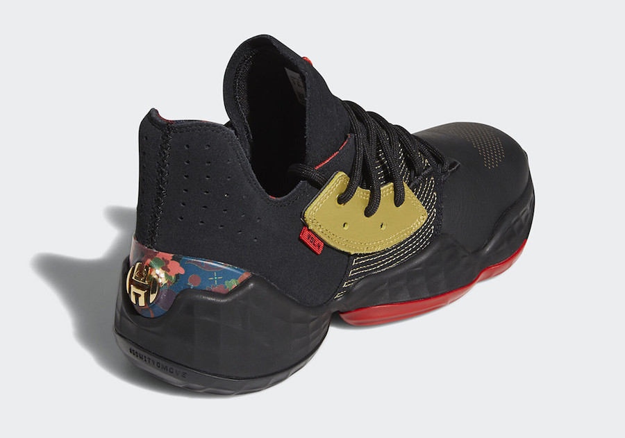"adidas,Harden Vol 4,发售 又一双顶级战靴发布新年配色!Harden Vol. 4 ""CNY"" 现已发售!"