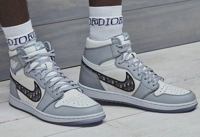 AJ1,Air Jordan 1  Dior x AJ1 领衔!上半年必抢的 30 双 Air Jordan!看这一篇就够了!