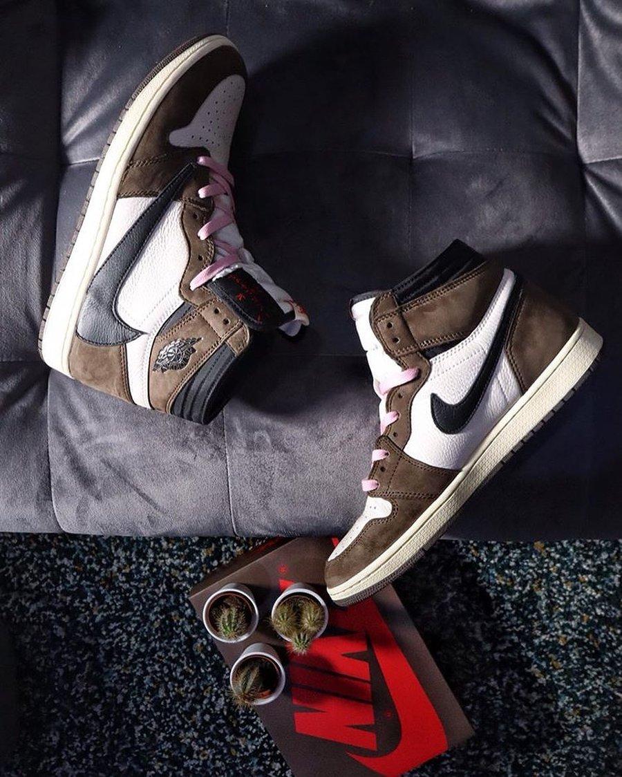 Nike,AJ1,Travis Scott, 2019「最有诚意的 10 双联名」!第二名冠希超爱,第一名毫无争议!