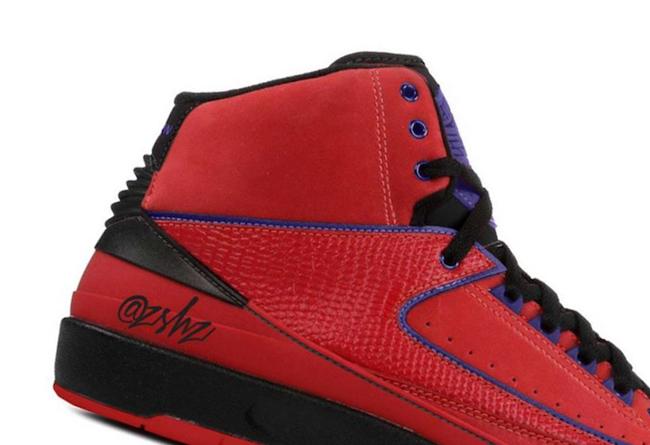 AJ,AJ2,Raptors 经典猛龙队配色!全新 Air Jordan 2 效果图释出!