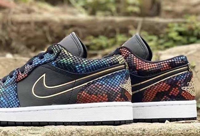 Nike,BHM,Air Jordan 1,AJ1,AF1, 权志龙「刮刮乐」+ 罕见彩虹蟒纹!今年 Nike 黑人月可真会玩!