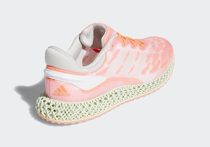 adidas,4D Run,FW6838 下一代 adidas 4D 跑鞋要来了!首发「三文鱼」配色有点鲜!