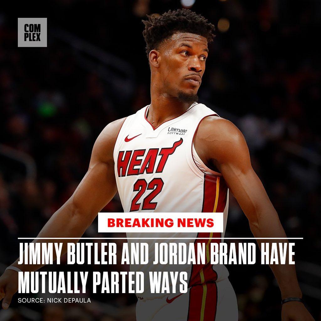 吉米·巴特勒,Jordan Brand  吉米·巴特勒与 Jordan Brand 提前解约!?会签约李宁么