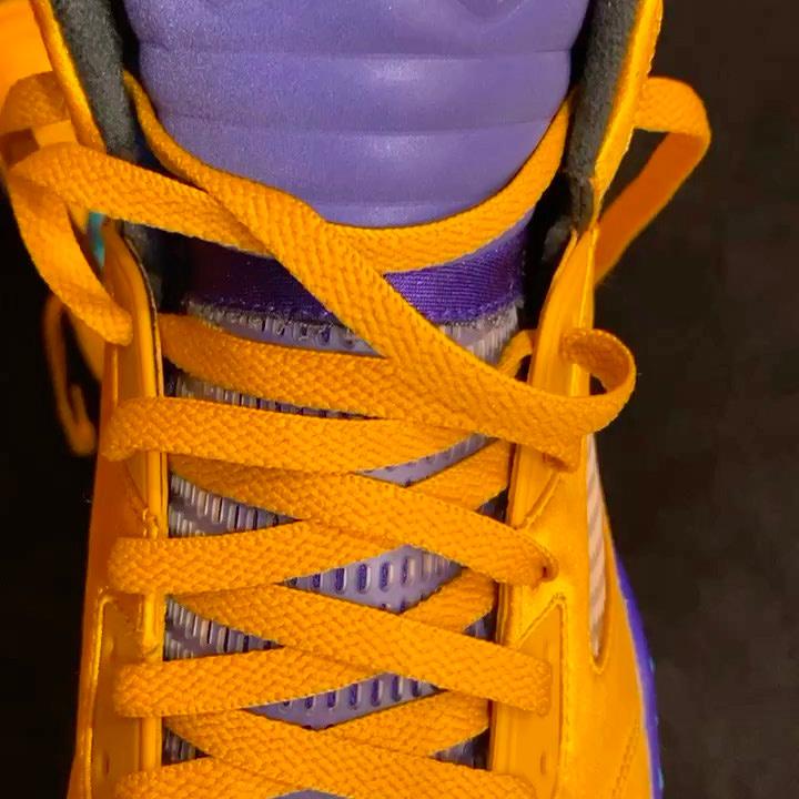 AJ5,Air Jordan 5 PJ 塔克这双丝绸 AJ5 你肯定没见过!仅制作了 23 双!