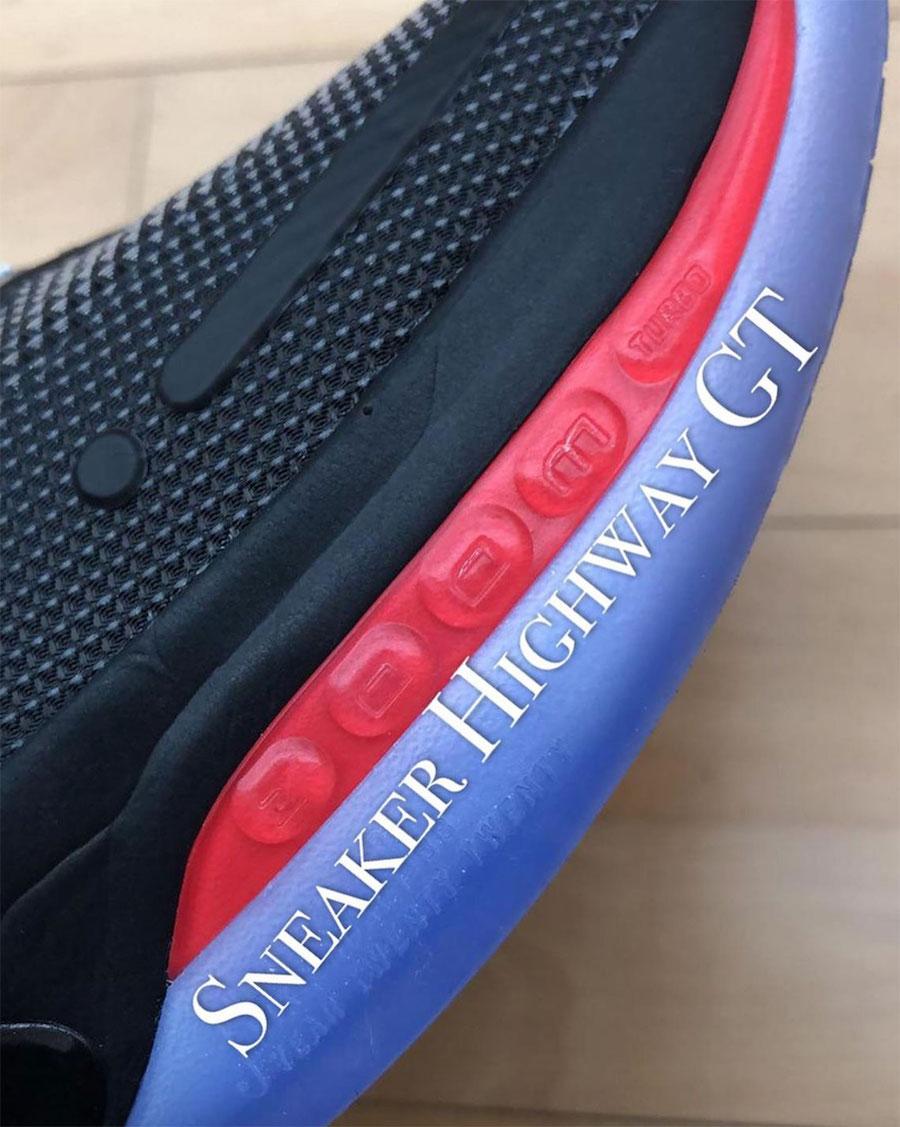 Nike,Adapt BB2 夸张歪勾,缓震升级!Nike Adapt BB2 实物首度曝光