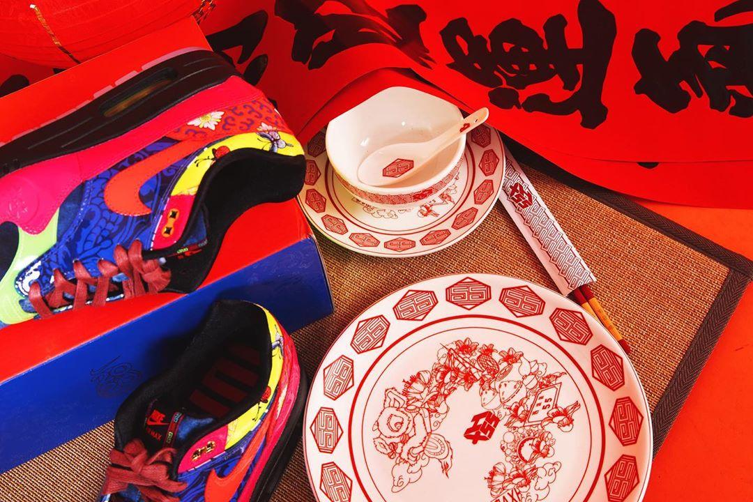 Nike,Air Max 1 「万寿无疆」Air Max 1 最新实物美图来了!超多细节,规格极高!