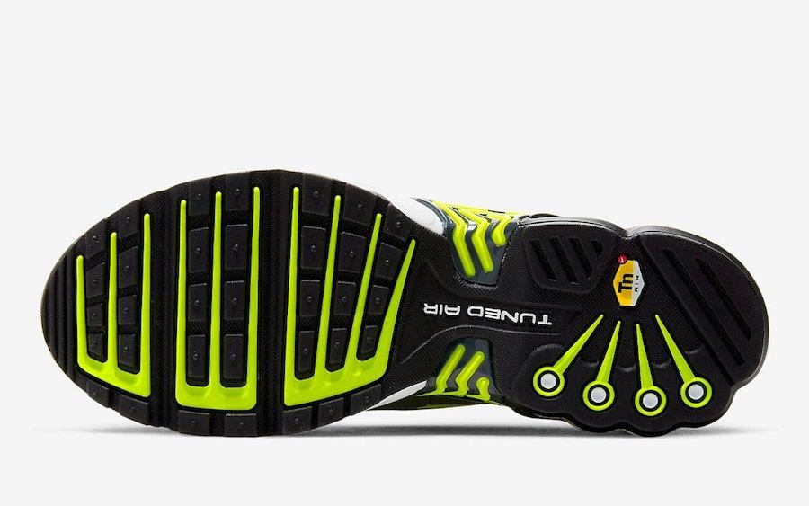 Air Max Plus 3,Nike,发售 经典 Neon 方案移植!Air Max Plus 3 发布超科幻新配色!