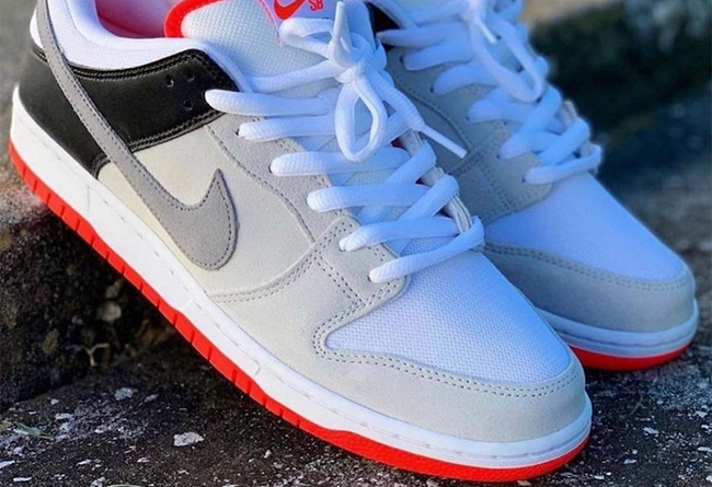 "Nike SB Dunk Low ""Infrared"""