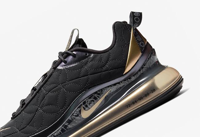 Nike,Air MX 720-818,Chinese Ne 缝线勾勒铜钱纹路!Nike Air MX 720-818 CNY 现已发售!