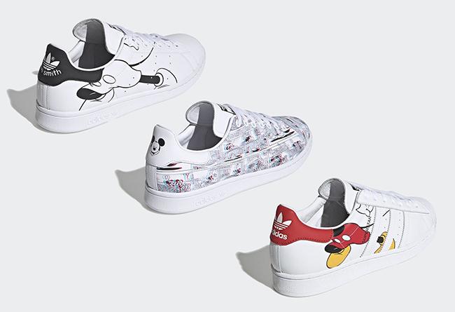 adidas,Mickey Mouse,Stan Smith 经典米老鼠 + 3D 漫画!这三双迪士尼联名鞋你打几分?