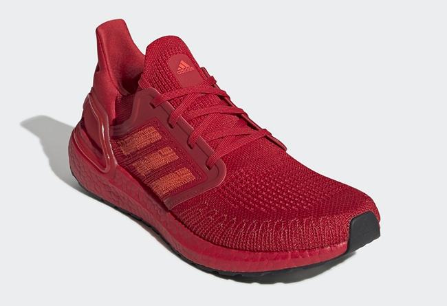 adidas,Ultra Boost 20,Triple R 球鞋年货新选择!这双「红红火火」的 adidas UB20 即将发售!