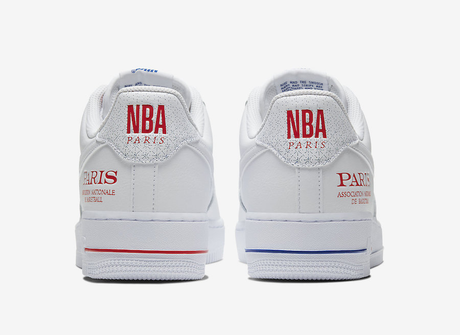 "Air Force 1,AF1,Nike,NBA,CW236 纪念首次法国常规赛!Air Force 1 ""NBA Paris"" 即将发售!"