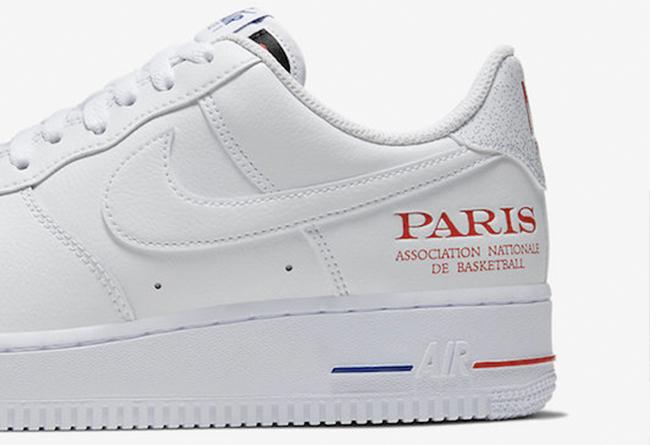 """Air Force 1,AF1,Nike,NBA,CW236 纪念首次法国常规赛!Air Force 1 """"NBA Paris"""" 即将发售!"""