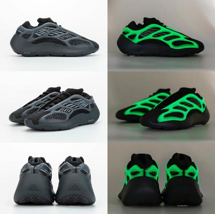 adidas,Yeezy,Yeezy 700 V3,Alva 夜光超亮!首发 Yeezy 700 V3 还没影,第二款发售信息又来了