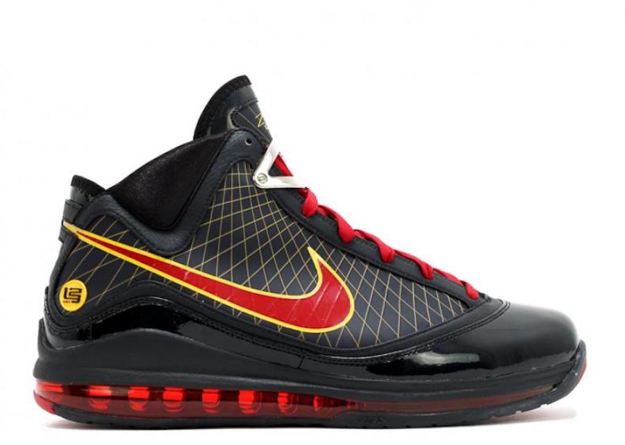"Nike,LeBron 7,CU5646-001 又一双元年未市售配色!Nike LeBron 7 ""Fairfax"" 即将发售"