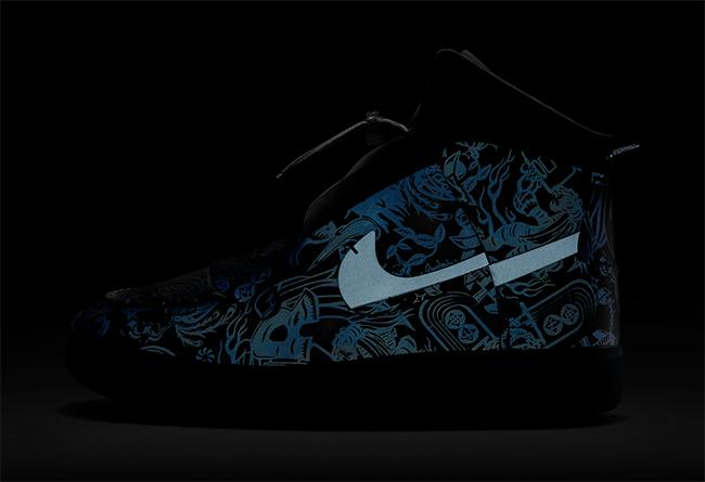 Vandalised,AF1,Air Force 1, 华丽镭射反光花纹!独特 Nike Vandalised AF1 现已发售!