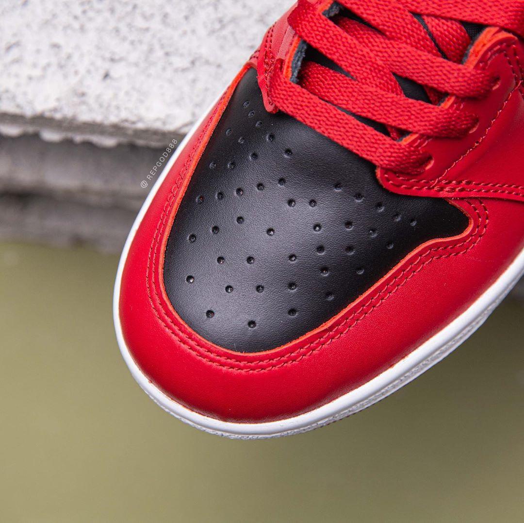 AJ1,Air Jordan 1,BQ4422-600 限量 23000 双!OG 气质十足的「反转黑红」AJ1 下月登场!