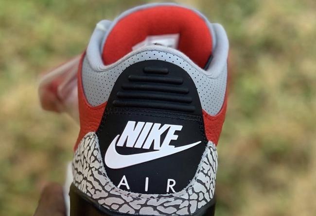 AJ3,Air Jordan 3,CK5692-600,发售 全明星赛登场!「红水泥」Air Jordan 3 下月发售!