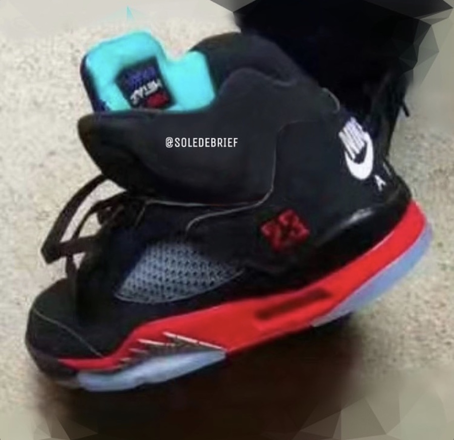 "Air Jordan 5,AJ5,Top 3,发售,CZ17 不是鸳鸯设计!Air Jordan 5 ""Top 3"" 终于有完整实物曝光了!"