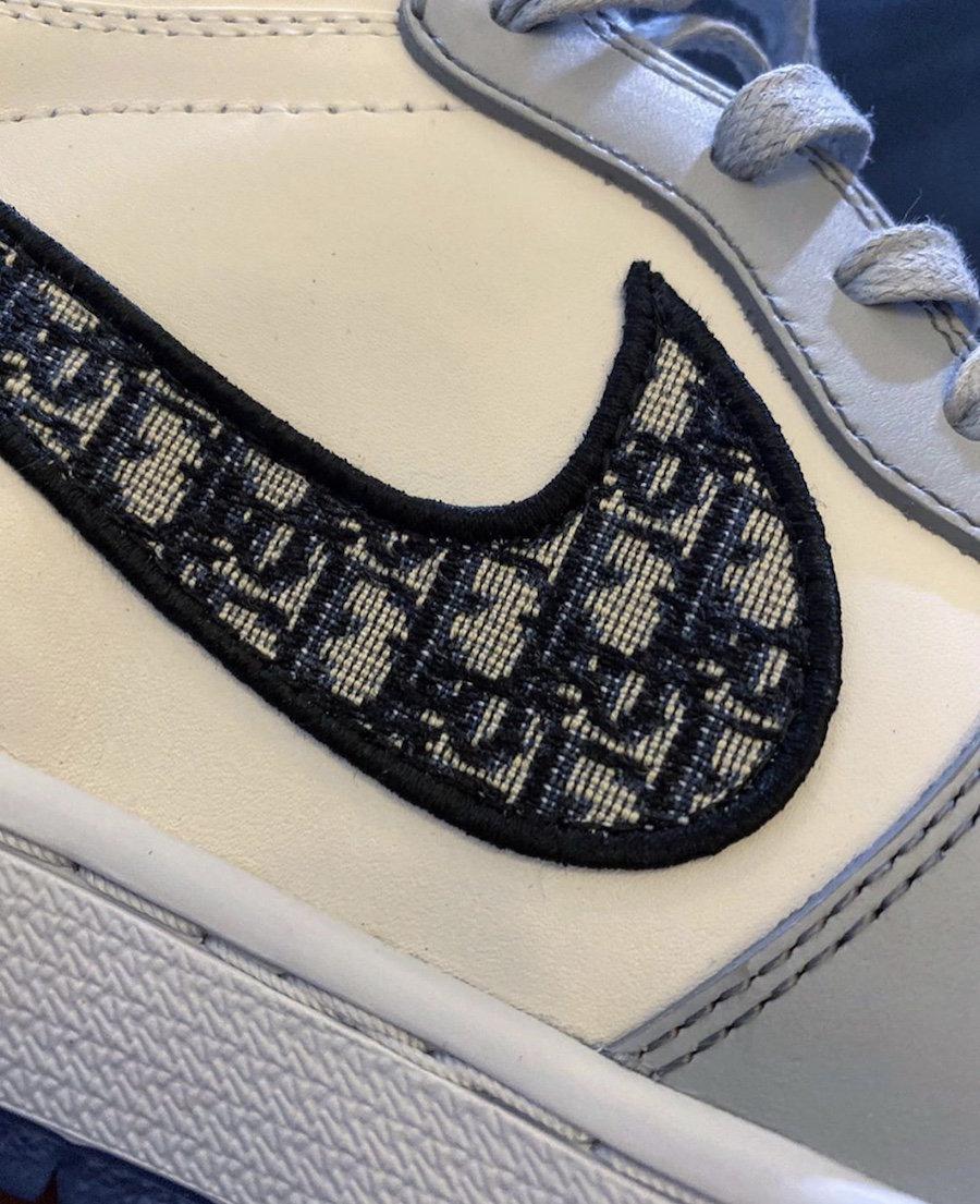 Dior,AJ1,Air Jordan 1 Dior x Air Jordan 1 还有低帮版本?!实物首次曝光!