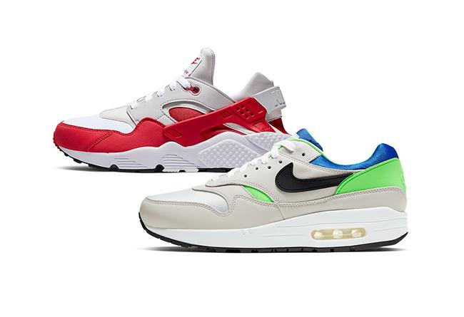 Air Huarache,Air Max 1,发售,DNA  又有两双经典鞋款「互换皮肤」!Nike 高规格套装官图释出!
