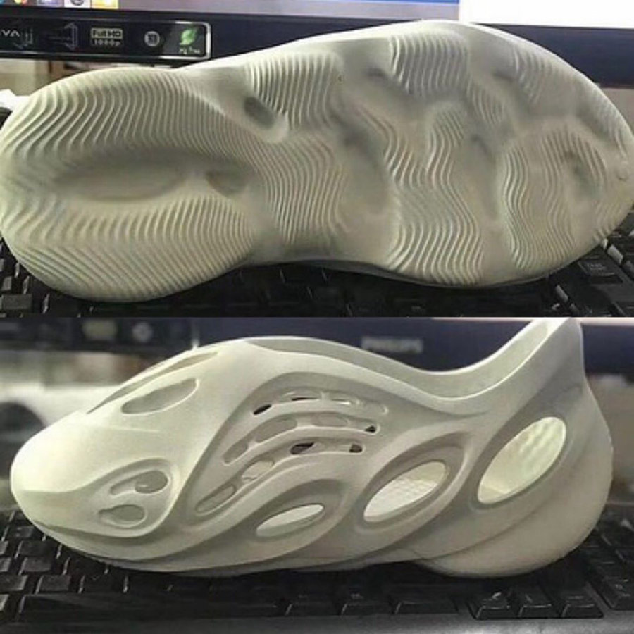 Yeezy,Foam Runner  Yeezy 洞洞鞋再曝实物新图!将于近期正式发售!