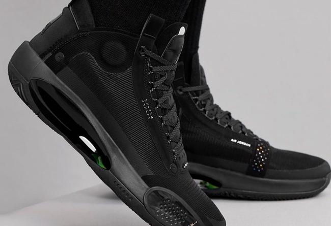 AJ,AJ34,Black Cat,AR3240-003 黑猫 Air Jordan 34 最新上脚图释出!下月正式发售!