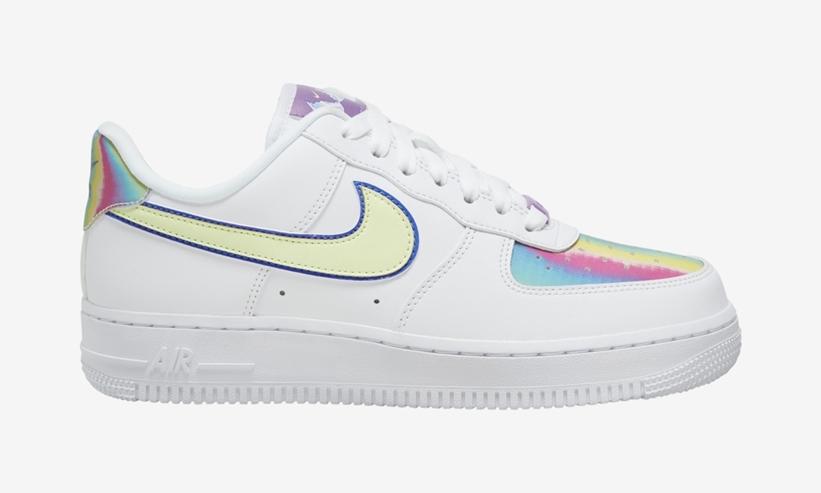 Nike,Air Force 1,AF1,发售,CW0367   骚气闪卡点缀细节!小白鞋 Air Force 1 又有新惊喜!