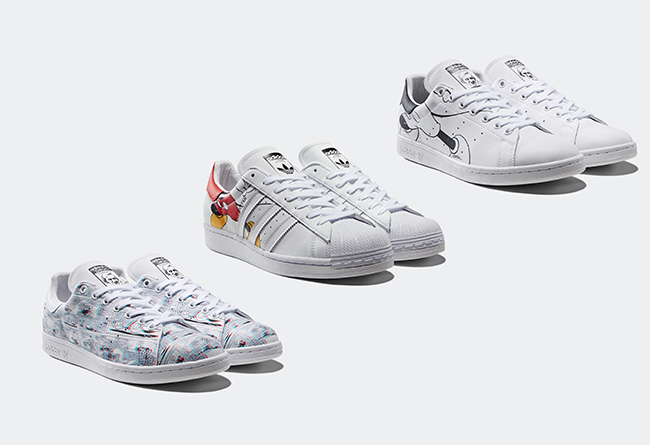 adidas,micky mouse,发售,supersta  买鞋送 3D 眼镜!adidas Originals CNY 还有重磅惊喜!