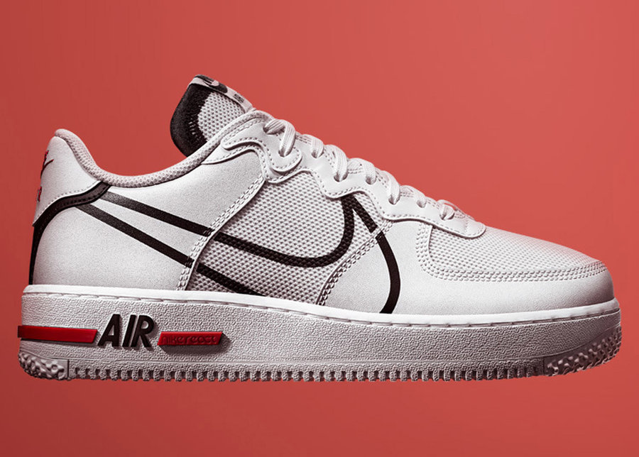 Air Force 1,AF1,Nike,发售,CD4366 全掌 React + 后跟气垫!升级版 Air Force 1 明天发售