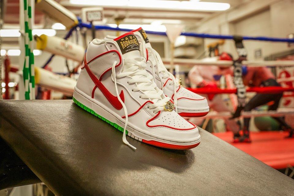 Nike,SB Dunk High,Dunk,CT6680- 拳击主题!金腰带 Nike Dunk SB 最新实物美图!明天发售!