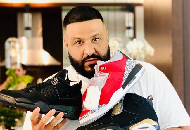 AJ3,AJ4,CK5692-600,CU1110-010, 鞋王 DJ Khaled 上脚稀有 OVO 联名!还一口气晒了 3 双未市售款...