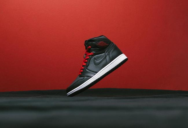 AJ1,Air Jordan 1,555088-060,发售  「黑红丝绸」 Air Jordan 1 最新实物美图!目前仍可原价入手!