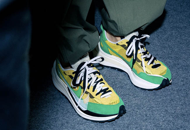 Sacai,Nike,Pegasus VaporFly SP  冠希亲晒!「Sacai x Nike」2020 合作款首次曝光,鞋底更厚了!