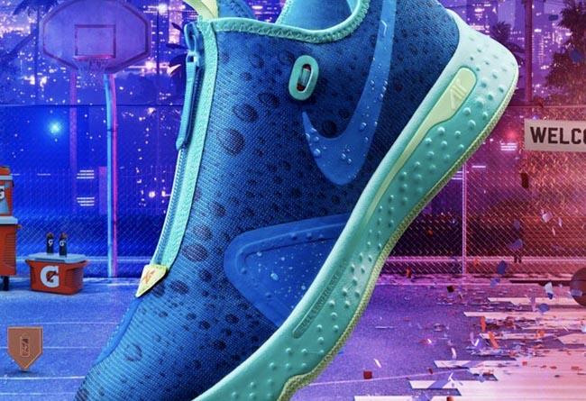 Gatorade,Nike PG 4 GE,NBA 2K20 又一双 2K 专属鞋款!全新佳得乐 PG 4 即将发售