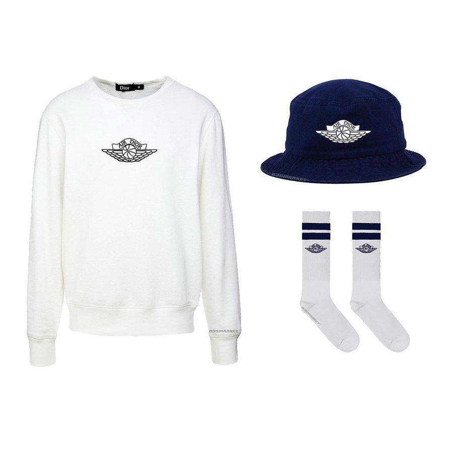 Dior,Air Jordan 1,Travis Scott Dior x Air Jordan 1 正式官宣!Travis Scott 已经穿上一套联名了!