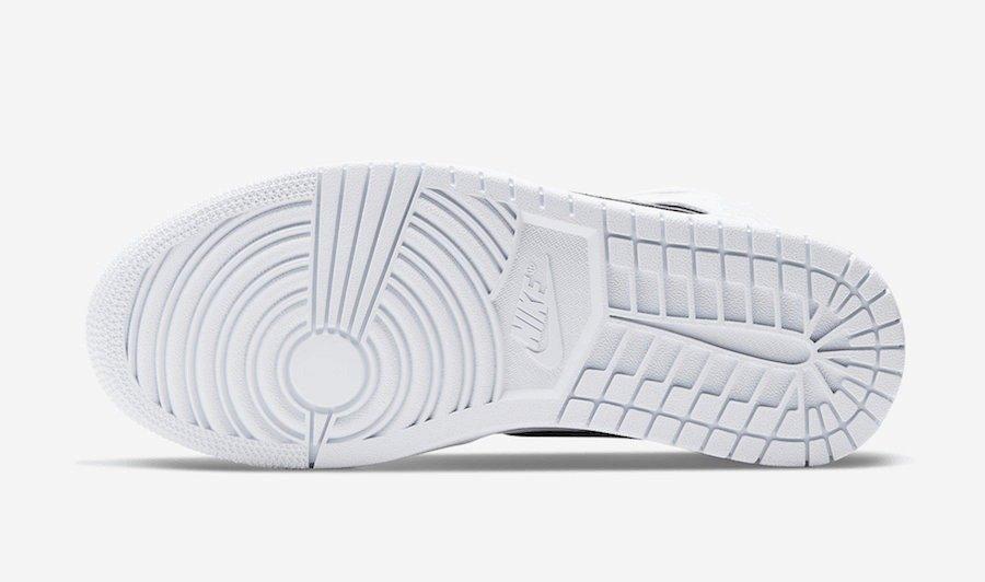 AJ1 Mid,Air Jordan 1,发售,CK6587 彩虹全息勾勒!全新 Air Jordan 1 Mid 现已发售