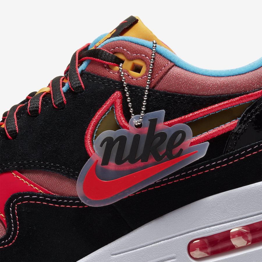 """Air Max 1,CU6645-001,发售,Nike  细节满满,糖果气质十足!纽约唐人街 Air Max 1 """"CNY"""" 下周发售!"""
