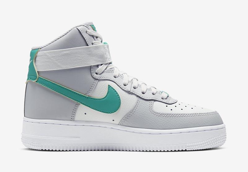 Nike,Air Force 1 High,AF1,WMNS  久违的高帮版本!好看又百搭 Nike AF1 Hi 迎来清爽新品登场