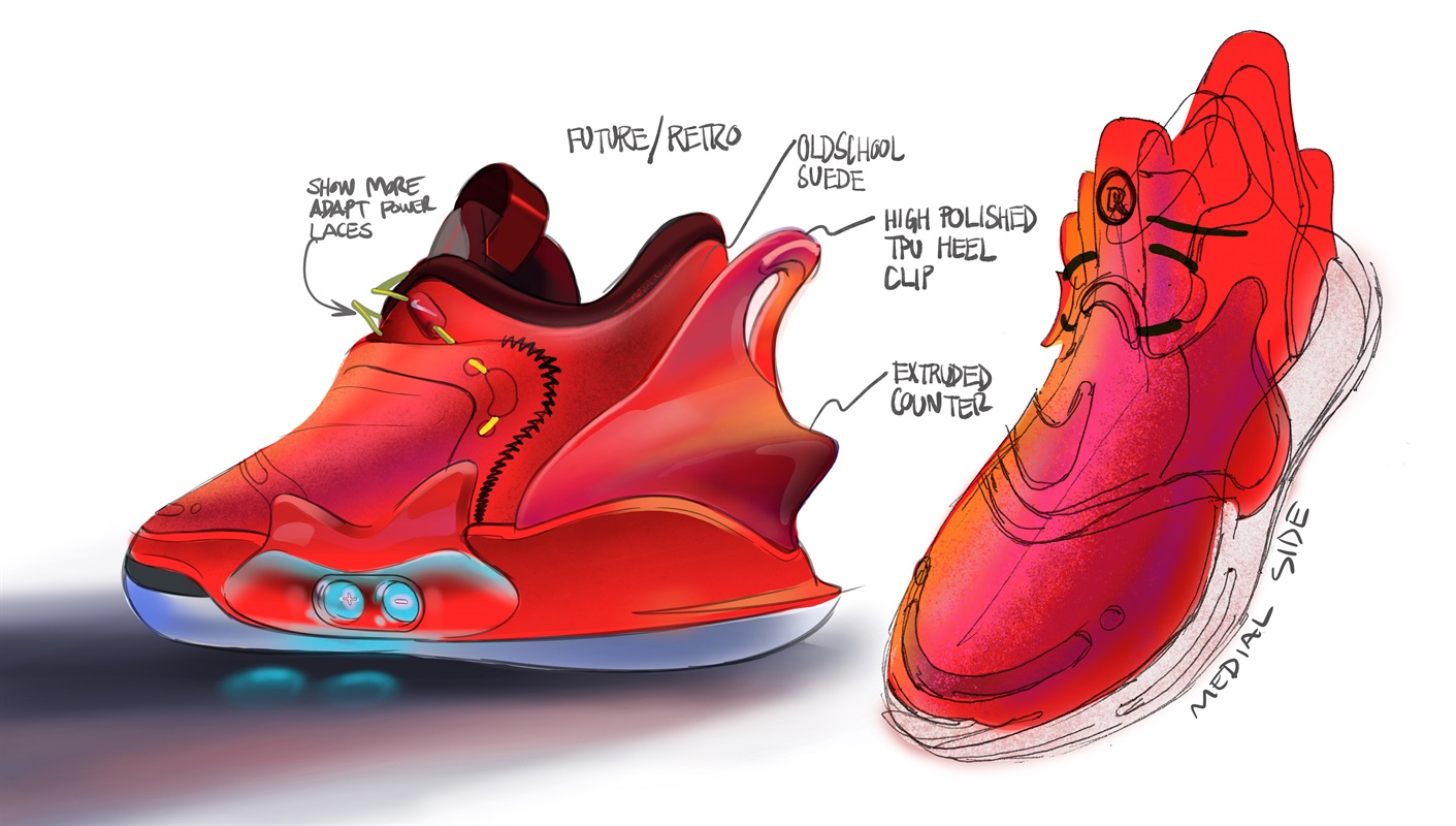 Nike,Adapt BB 2.0,发售 穿脱方便!缓震升级!自动系带 Nike Adapt BB 2.0 下月发售