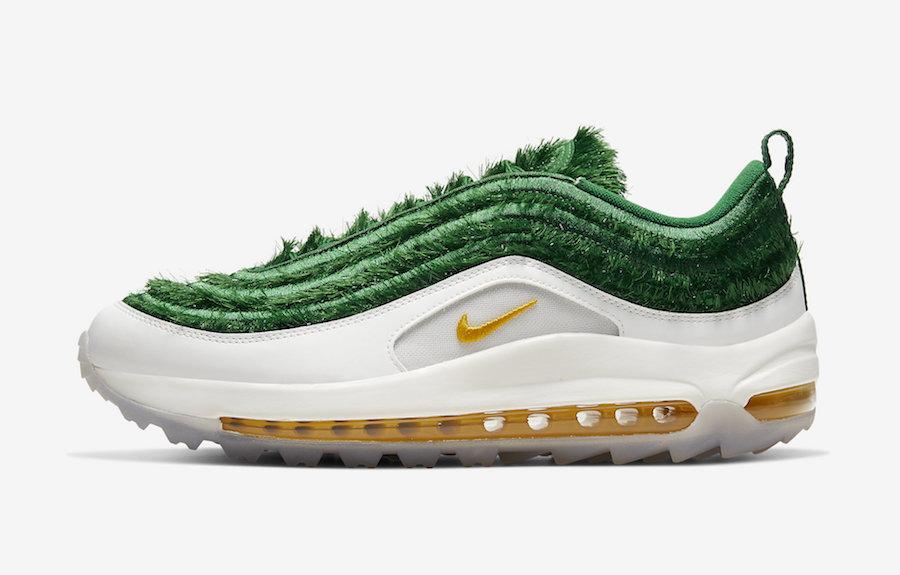 Nike,Air Max 97,Golf,Grass,CK4 这双 Nike 新跑鞋告诉你,什么叫「我种草了」!