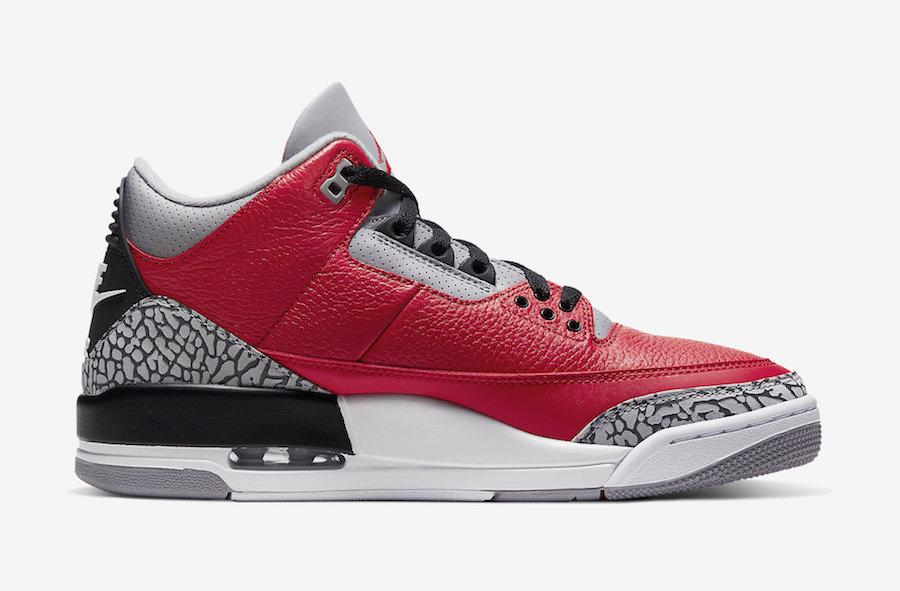 CK5692-600,AJ3,Air Jordan 3 CK5692-600 酷似天价联名!注意红水泥 Air Jordan 3 有两个版本!